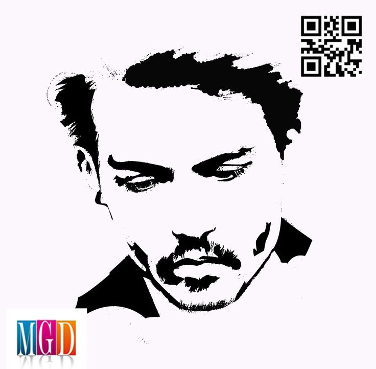 Johnny Depp vector image in Black and White  http://jaimesartwork.wordpress.com/wp-admin/post.php?post=2901=edit=6=v2