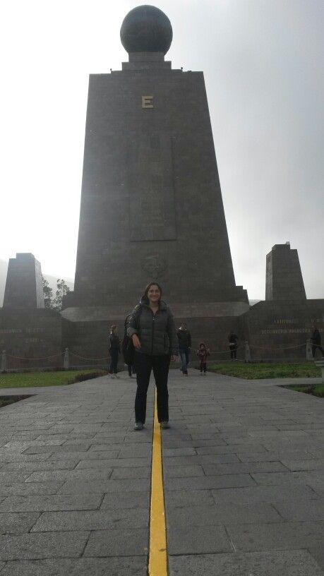 La Mitad del mundo - Quito - Ecuador / Febrero - 2015 / conocerlo es obligado cuando visitas a Quito.  Hay que hacer el recorrido para conocer las costumbres de sus antecesores.  Aquella costumbre de reducir las cabezas humas me pareció impresionante, se llama Tsantza el proceso.