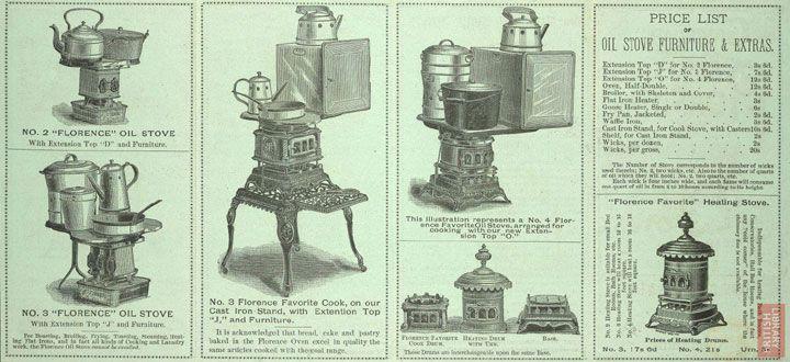 John G. Rollins and Co. Oil Stove Merchants