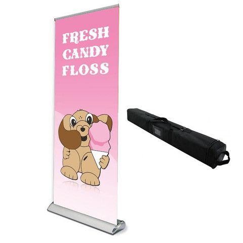 Candy Floss Roll up Poster