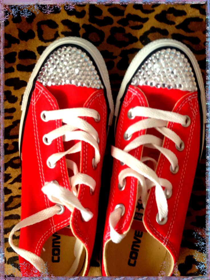 My bedazzled shoes