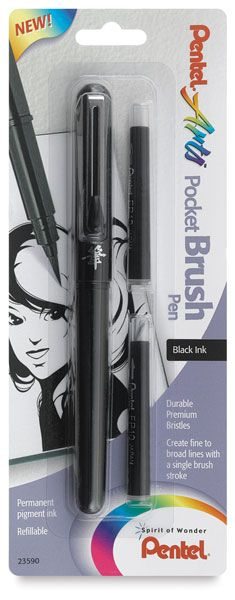Pentel Pocket Brush Pen