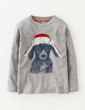 Mini Boden Winter Warmer T-shirt Grey Marl Boys Boden, Grey Long-sleeved T-shirts are an essential for cold weather expeditions. This one is made from 100% cotton jersey, so its supersoft and super-comfortable. We thought the hand-drawn animal designs looked a http://www.MightGet.com/january-2017-13/mini-boden-winter-warmer-t-shirt-grey-marl-boys-boden-grey.asp