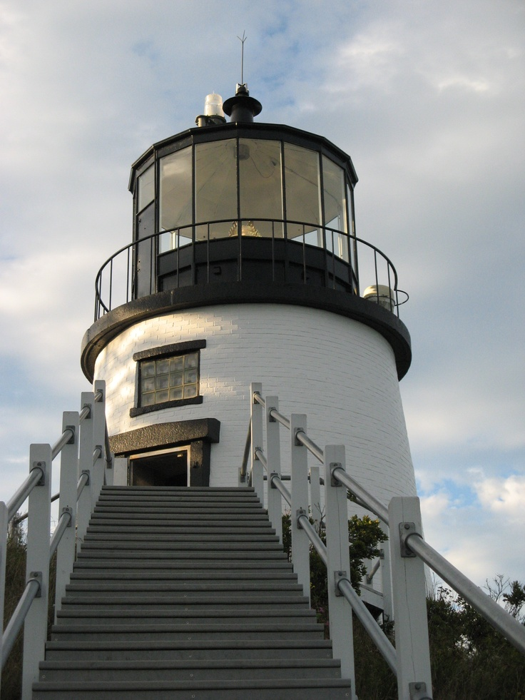 Owls Head Lighthouse Maine  Reputed to be haunted!  2010  - I've been there in the last few years.  Love Maine's lighthouses.