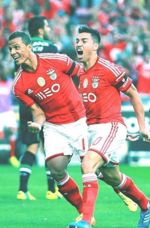 Como não amar estes dois os melhores #carregabenfica #lima #gaitan