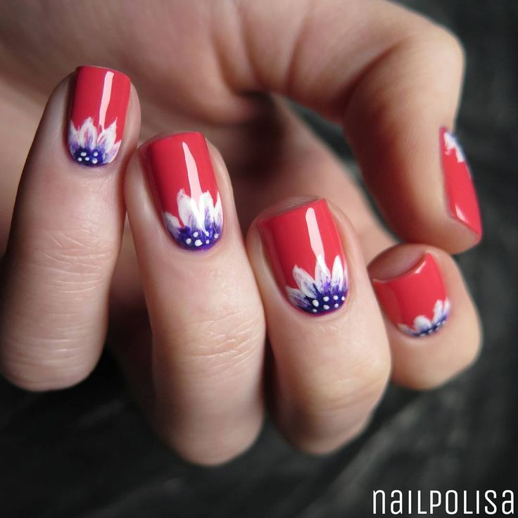 225 best nails images on pinterest beleza cute nails and nail i redid a design from years ago everything is hand painted feeling spring on my nails prinsesfo Choice Image