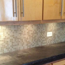 Kitchen Countertops Without Backsplash Counter Paint Anyone With Inch