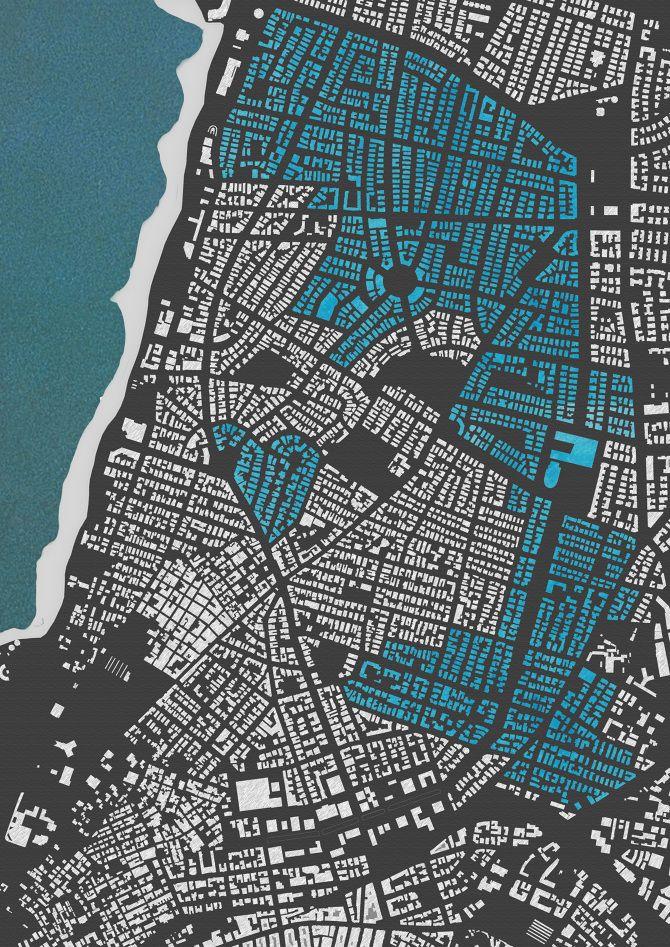 Nolli Map Tel Aviv