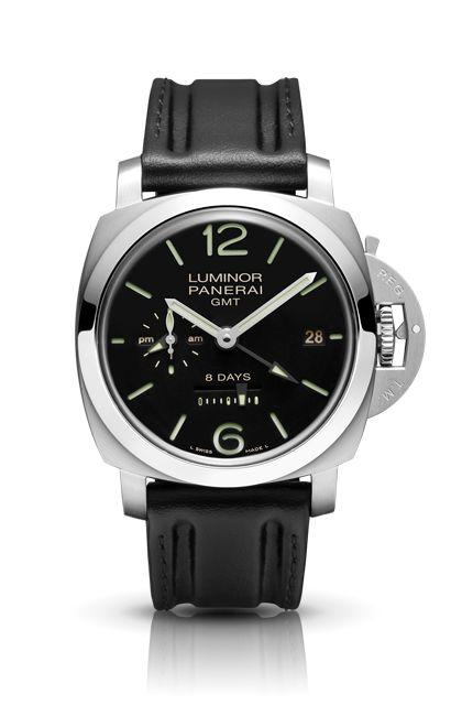 Luminor 1950 8 Days GMT Acciaio PAM00233 - Collection LUMINOR 1950 - Watches Officine Panerai