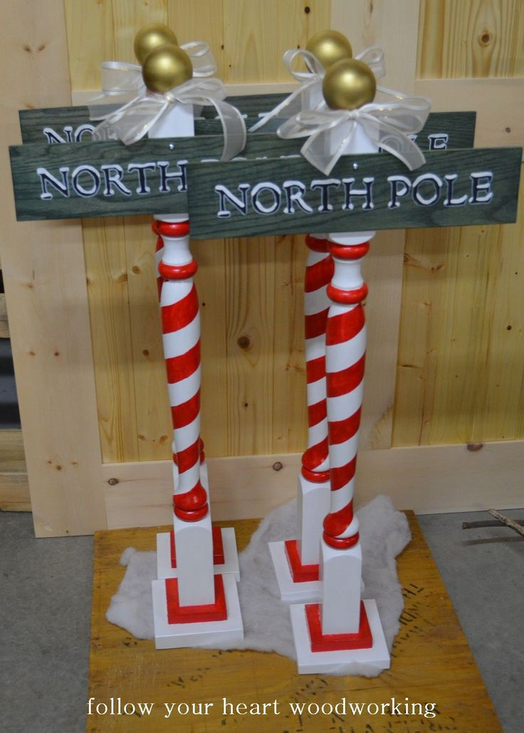 follow your heart woodworking: Christmas Items - North Pole