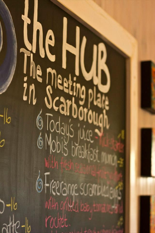 The Hub - best coffee in town  www.scarboroughproperty.co.za