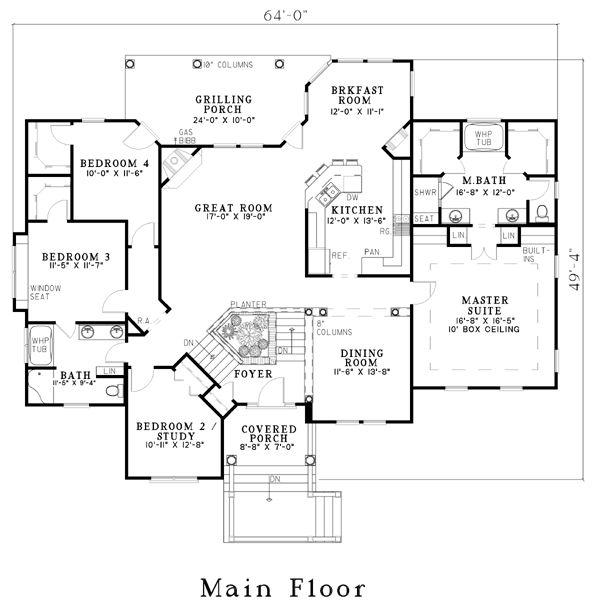 460 best Houses & plans images on Pinterest | Floor plans, Home ...