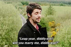 Declan- Leap Year. First, Yes. I'd like to make plans with you, too, Declan.