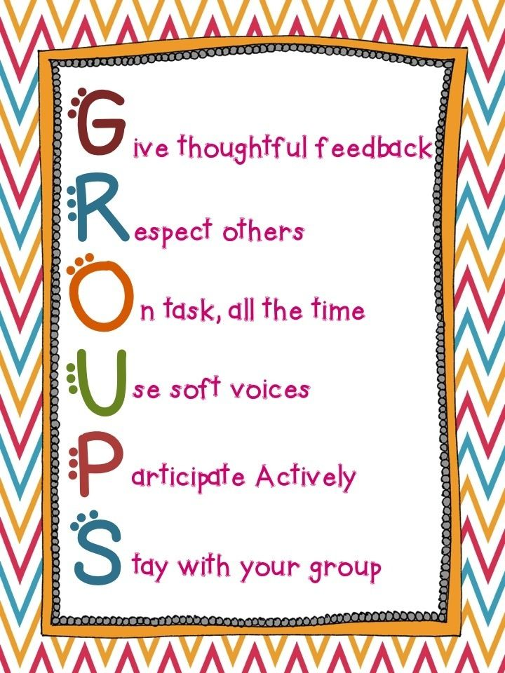 Group Work Rules 82