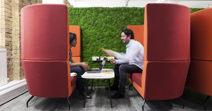 Friends Of The Earth office by Peldon Rose Group, London – UK