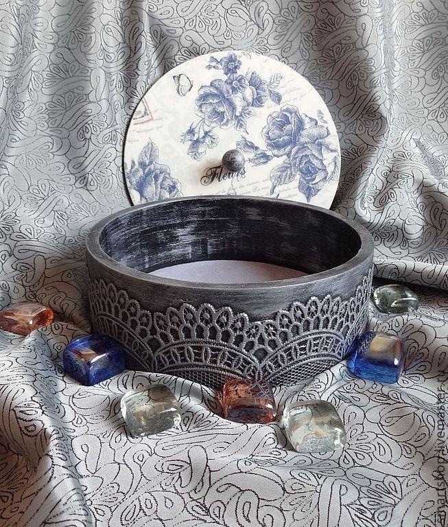 Купить Шкатулка Розы в серебре - серебряный, Декупаж, шкатулка, розы, цветы, серебро, имитация серебра