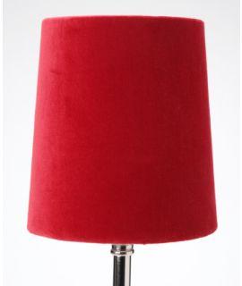 Abażur Velvet Red