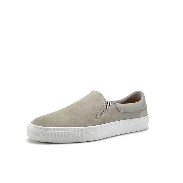 Phoenician Grey Slip-On