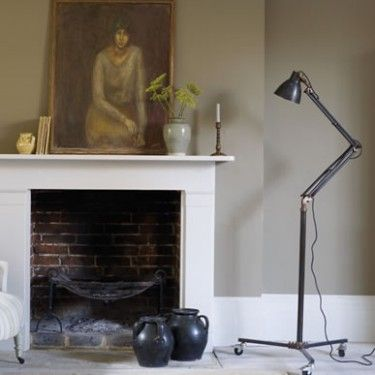Love this Fired earth paint coulour for the living room - Wades Lantern