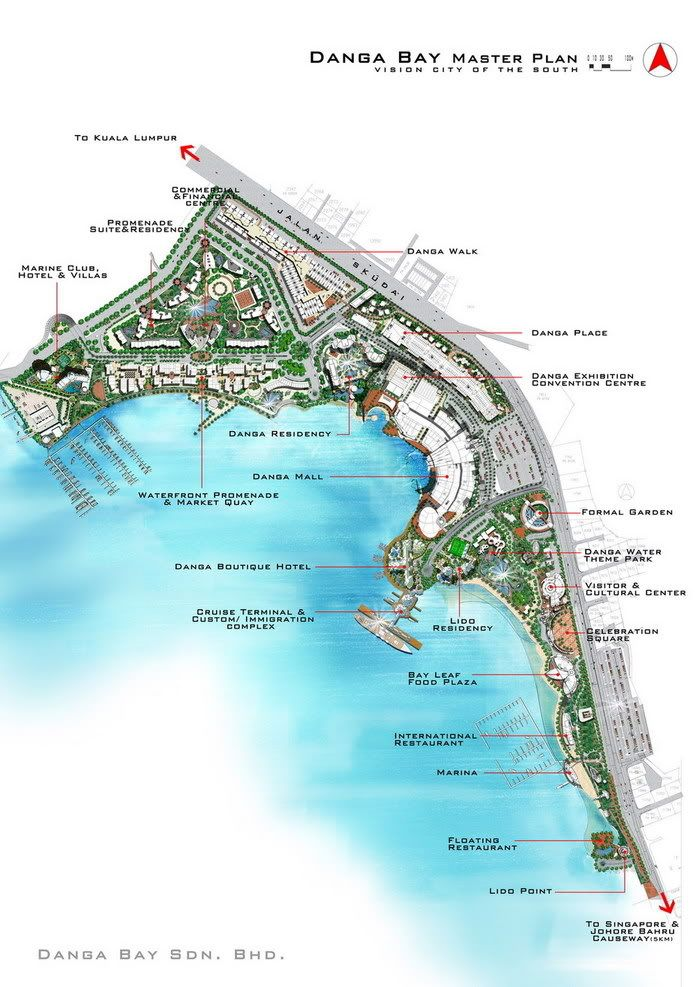 DANGABAY WATERFRONT PROJECT Johor Bahru Danga Bay