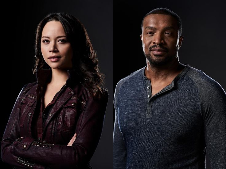 Dark Matter is a Canadian produced space opera in its third year on the Space channel. We caught up with Melissa O'Neil (Two/Rebecca/Portia Lin) and Roger Cross (Six/Griffin Jones/Lt. Kal Varrick) when they were recently in town for the Calgary Comic and Entertainment Expo.  / This is not the first time...