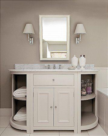 Best 25 base cabinets ideas on pinterest man cave diy - Bathroom vanity storage solutions ...