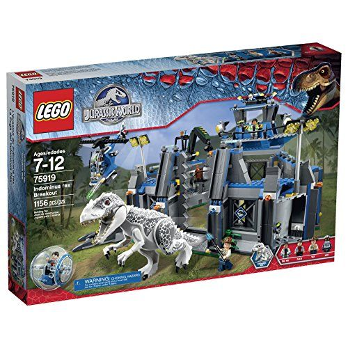 LEGO Jurassic World Indominus Rex Breakout 75919 Building Kit LEGO http://smile.amazon.com/dp/B00UPB9RVM/ref=cm_sw_r_pi_dp_dYFFvb0R00N97