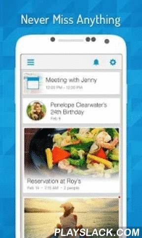 EasilyDo Smart Assistant  Android App - playslack.com ,  EasilyDo is an award winning assistant that organizes your work and personal life. Less work, less worry, and more time for you.Here's some of what this thoughtful virtual assistant does: Merges duplicate contacts, checks traffic so you know when to leave for a meeting, identifies email you may have forgotten to respond to, reminds you of meetings committed to in email that are not on your calendar, adds flights to calendar &amp…