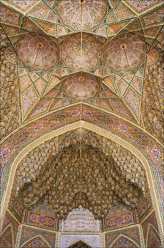 The Nasīr al-Mulk Mosque (Masjed-e Naseer ol Molk) is a traditional mosque in Shiraz, Iran, and was established in 1888.