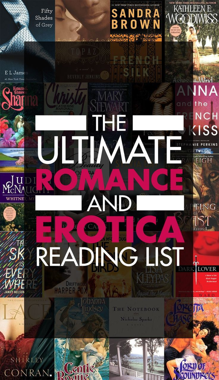 The Ultimate Romance And Erotica Reading List -- there are even so classics in this list!