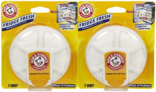Arm & Hammer Fridge Fresh Refrigerator Air Filter – 2 pk
