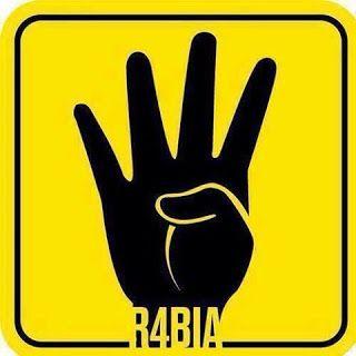 Simbol 4 jari, protes terhadap tentera Mesir   Berita Metro Online