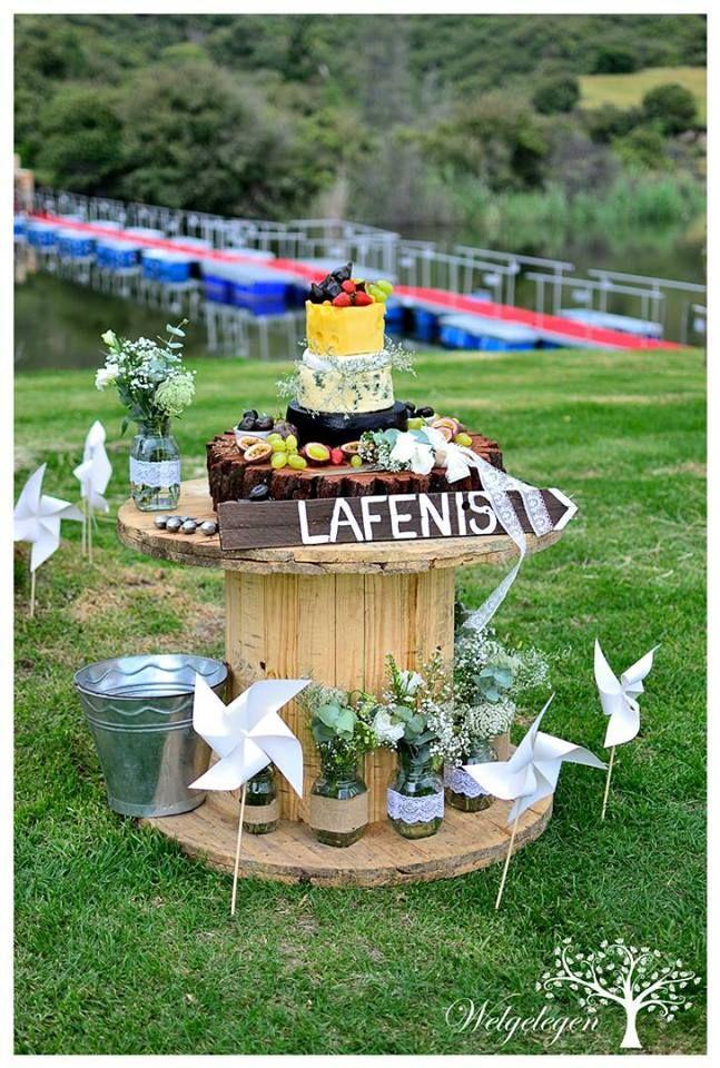 Welgelegen Wedding Venue - Cheese wedding cake