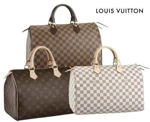 speedy 35 damier   Louis Vuitton Speedy 35 Damier