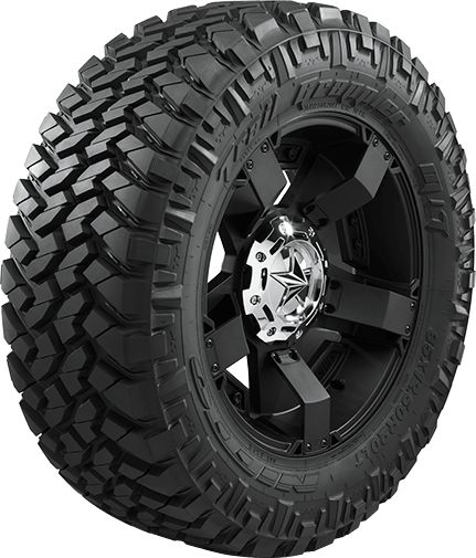 Blend the off-road performance of a mud terrain tire with the quietness of an all-terrain and you get the Trail Grappler M/T. Enjoy the best of both worlds.
