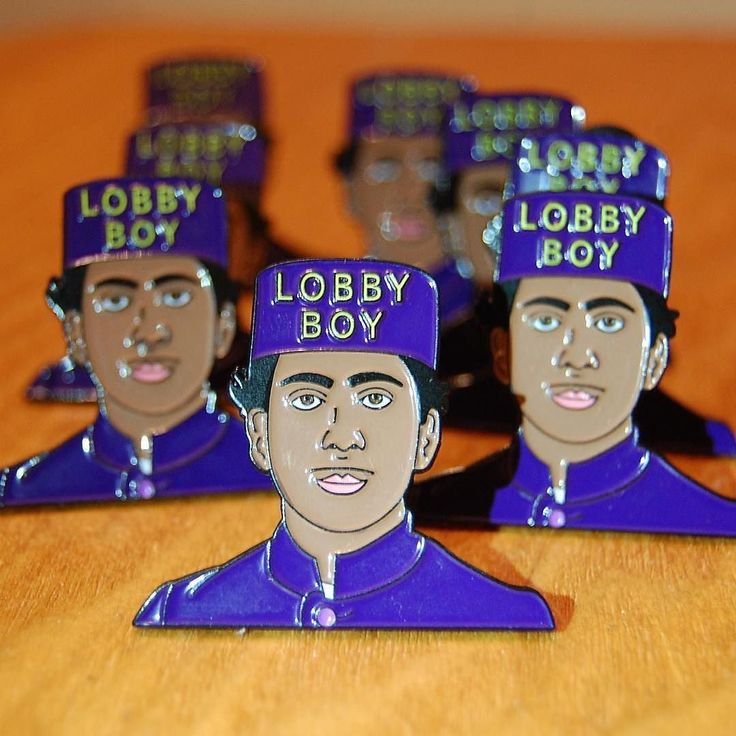 "#Repost @pin_house  ""Why do you want to be a Lobby Boy?"" ""Well who wouldn't at the Grand Budapest sir? It's an institution."" ""Very good.""  