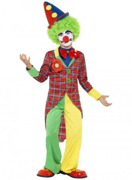 Boys clown costume                                                                                                                                                                                 Más