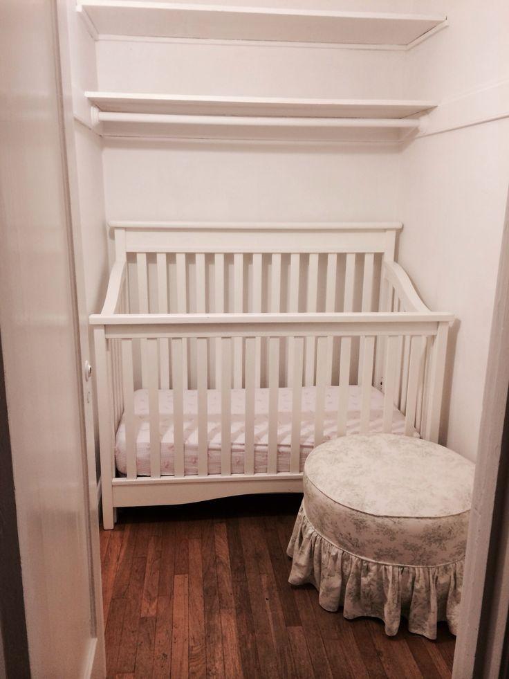 Closet Nursery Ideas For A Small Nursery Phoebe S Closet Nursery Pinterest Ideas Small