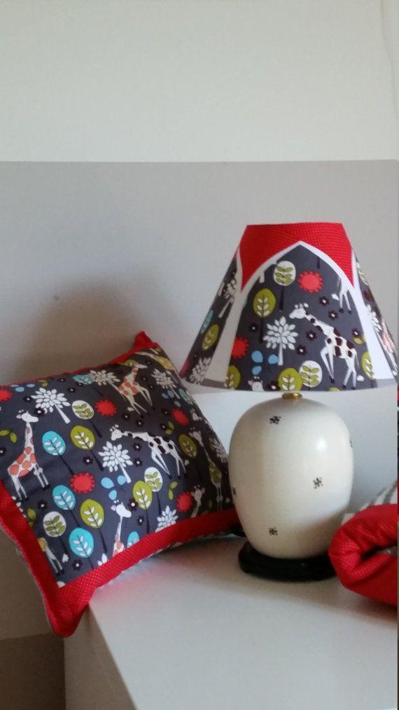 Nursery lamp, Giraffe lamp, Giraffe Garden lamp, Children's lamp. Nursery decor, baby gift, Nursery set, Nursery lighting, accent table lamp