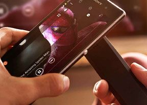 One touch mirroring and screen share with the NFC
