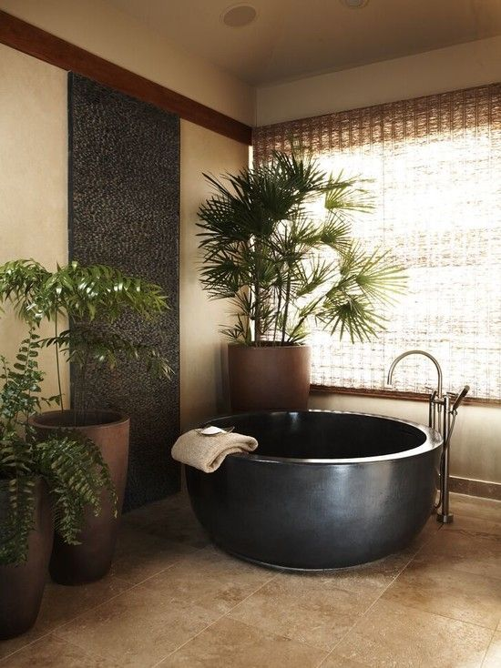Asian Bathroom Bathtub Design, Pictures, Remodel, Decor and Ideas - page 2 #asianhomedecor