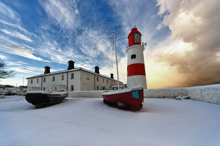 Winter time at Souter Lighthouse.