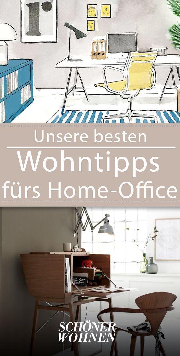 Home Office Einrichten Mobel Gutes Licht Mehr Mit Bildern Home Office Hausburo Organisation Zimmer Einrichten