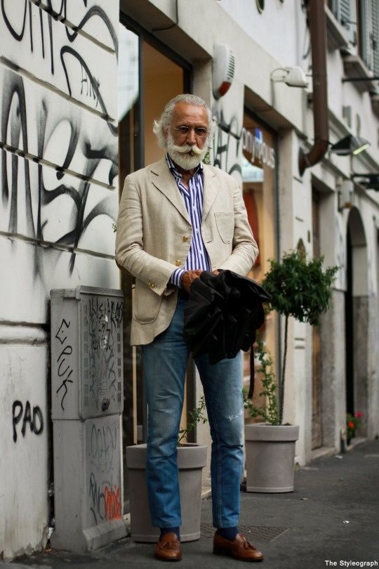 Grey Fox: A look that inspires 3 - the well-dressed older man