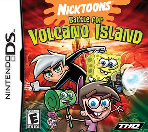 Battle For Volcano Island, Nicktoons - Nintendo DS Game Includes original Nintendo DS game cartridge and may include case and manual. All Nintendo DS games play on the Nintendo DS, DSlite, DSi, DSXL s