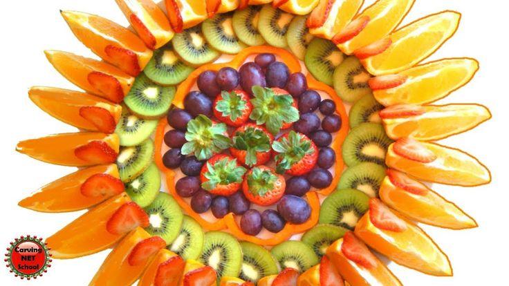 HOW TO CUT & MAKE DELICIOUS FRUIT SLICED, PRATOS DE FRUTAS FATIADAS, FÁC...