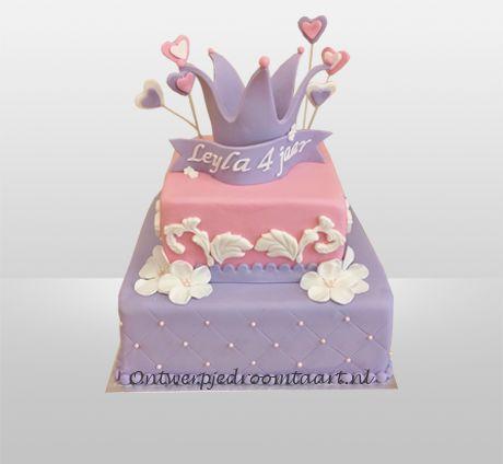 Verjaardagstaart prinses