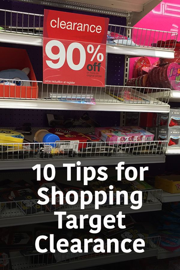 The best tips for shopping Target clearance, how to get deals at Target, where to find the Target deals and how to save money at Target