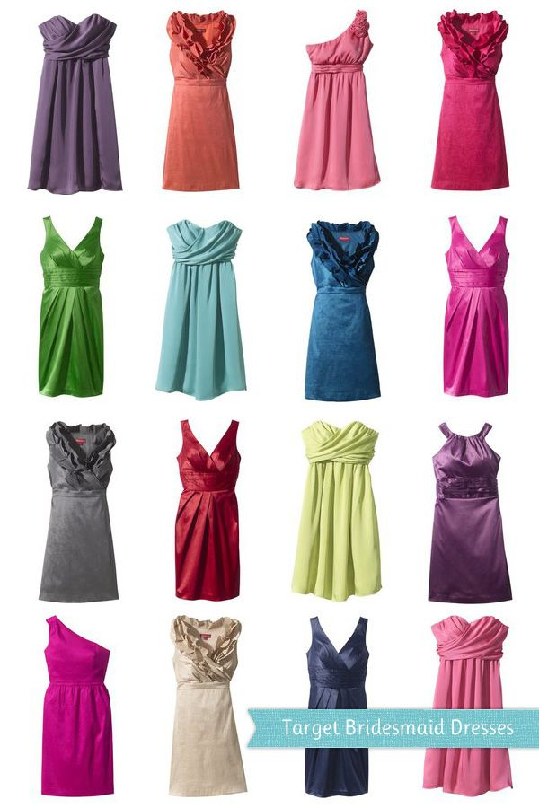 {Frugal Fashion Friday} Target's Bridesmaid Collection
