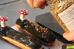 how to make caramel eclairs